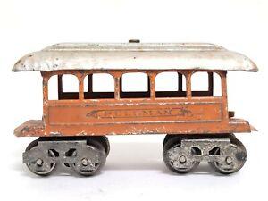 Vintage Lionel Pullman Passenger Car Eight Wheel O Gauge Tin  Metal RARE LOOK