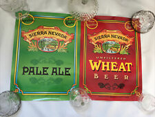 Pair Of Sierra Nevada Brewing Co Chico Ca Wheat Beer Ale Posters Glossy Finish