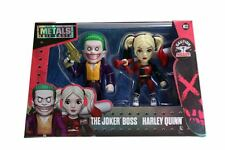 DIE CAST METALS 4 INCH SUICIDE SQUAD THE JOKER BOSS & HARLEY QUINN M23 IN STOCK