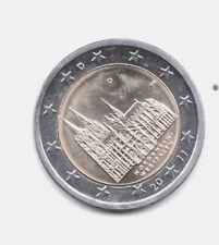 MONEDA 2 EUROS C. ALEMANIA 2011 LETRA D. NORDRHEIN WESTFALEN. SIN CIRCULAR
