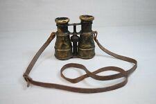 Antique Decorative Binocular Binoculars Scope Brass WWII HIPPIQUE IRIS PARIS