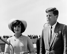 President John F. Kennedy and Jackie in Bogota Colombia New 8x10 Photo