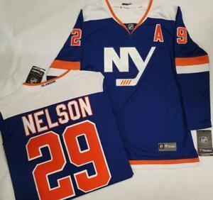1621 WOMENS Fanatics New York Islanders BROCK NELSON Sewn Hockey JERSEY New