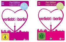 &B 6 DVDs * VERLIEBT IN BERLIN - BOX 10+11 / FOLGEN 271 - 330 FAN EDITION # NEU