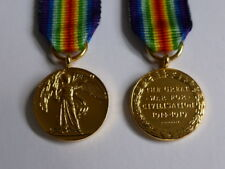 MEDALS - WW1 - BRITISH VICTORY MEDAL 1914/19 -MINIATURE