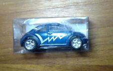 GOLDEN WHEEL DIECAST VOLKSWAGON BEETLE VW BUG BLUE 1:64 SCALE CAR RARE!
