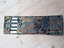 5 Original Bundeswehr Zelt Heringe MIT TASCHE Alu Zeltheringe Erdnagel Hering