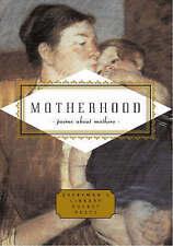 Motherhood (Everyman's Library Pocket Poets),Ciuraru, Carmela,New Book mon000009