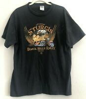 Sturgis 67th Annual Black Hills Rally Graphic Biker Tshirt Mens Size M/L