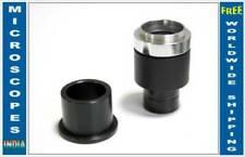 Adaptadores de lente y cámara de microscopio