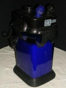 Penn Plax Cascade 1000 Aquarium Canister Filter /Tank to 100 gallons - No Hoses