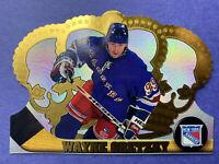 1997-98 Pacific Crown Royal #84 Wayne Gretzky New York Rangers Base DieCut