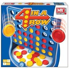 Kids Connect 4 In A Row Board Game Family Children Fun Trip Party Garden Toy