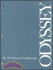 SHOP MANUAL ODYSSEY SERVICE REPAIR 1997 HONDA BOOK ELECTRICAL WIRING DIAGRAMS