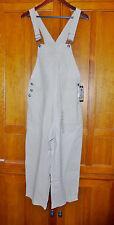 NwT COLUMBIA Linen Cotton Bib Overalls Sportswear CAPRI JUMPSUIT Pants sz M
