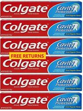 📌Colgate Cavity Protection Toothpaste w/ Fluoride, 6 oz. Tube Pk of Six (6) NEW