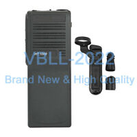 Black Replacement Housing Case Cover Kit W/ Connector For MOTOROLA HT1000 Radio