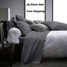 6 Piece Deep Pocket 2100 Count Soft Egyptian Bamboo Comfort Feel Bed Sheet Set