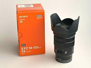 Sony  E PZ 18-105mm F4 G OSS Lente (SELP18105G)