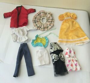 Bundle / lot of dolls clothes for fashion doll