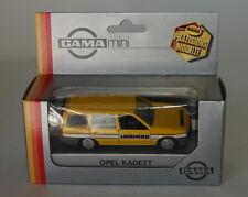 Liebherr gama mini caravana juguete Diecast 1/43 escala metal fundido con
