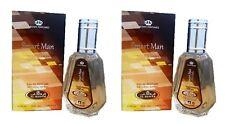 2 Pack SMART Man 35 Ml Oriental Naranja Vetiver Eau de Perfume Spray por AL rehabilitación