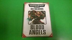 Warhammer 40000 Datacards: Blood Angels 2014 TCG 40K Brand New
