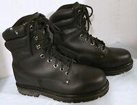 Men's, Texas Steer, Steel Toe Work Boot, Black, US 6.5 Eur 39.5