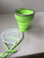 Collapsable Cup with Lid - Camping / Hiking