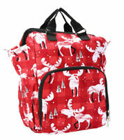 Thirty one school picnic trip gym diaper backpack bag Moosin around 31 gift