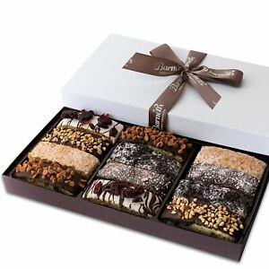 Barnett's Gourmet Chocolate Biscotti Gift Basket, Christmas Holiday Him & Her Co