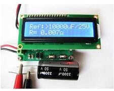 NEW Internal Battery Resistance Impedance Tester Voltmeter+ In-ciruit Cap ESR