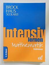 Intensiv lernen Mathematik Brockhaus Scolaris Funktionen 9 bis 10 Klasse