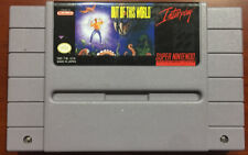 Out of This World Authentic Super Nintendo SNES  Video Game Cartridge