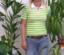 Sexy Ladies Tokyo Style Stripe T-Shirt Polo 10-12 Sexy Womens tshirt Medium New