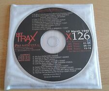HIT TRAX (ROLLING STONES, SEAL, 2PAC, JANET JACKSON) - CD PROMO COMPILATION