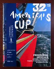 Official magazine 32 America's cup vela nautica Louis Vuitton Acts sailing races
