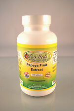 Papaya Fruit Extract 500mg, digestion, inflammation aid -100 tablets