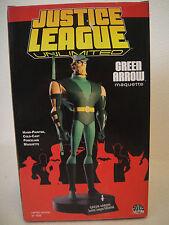 JUSTICE LEAGUE UNLIMITED FACTORY NEW! JLA GREEN ARROW MAQUETTE DC Direct Statue