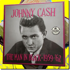Johnny Cash ,The Man in Black 1959 - '62  ( Box 5 CD )
