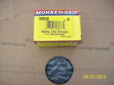 """2 1/4"""" Radial Tire Patches- Monkey Grip- 30 per box"""