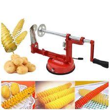 Stainless Steel Manual Potato Machine / Tornado Potato Slicer Home Kitchen Tool