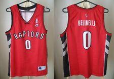 Toronto Raptors #0 Marco Belinelli Size M Champion basketball shirt jersey