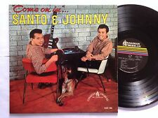 "Santo & Johnny - ""Come On In"" Canadian American CALP 1006 RARE LP"
