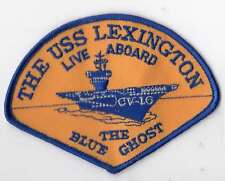 Girl Scout Fun Badge Patch ~Lot 20170801Y~USS Lexington Live Aboard Blue Ghost