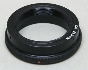 T-MOUNT SLR LENS ADAPTER - T-MOUNT LENS to CANON F/FD MOUNT NEW OLD STOCK