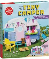 Klutz Make Your Own Tiny Camper Book & Activity Craft Kit