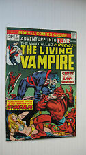 Fear #22 (MCG 6/74 VF- The Living Vampire! Morbius app/Rich Buckler-c/a Nice!!!!
