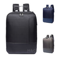 Men's Portfolio Briefcase Attache CaseMessenger Shoulder Laptop Bag Backpack