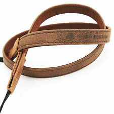 NEW Matin Vintage-15 Brown DSLR SLR Camera Neck Shoulder Leather Strap